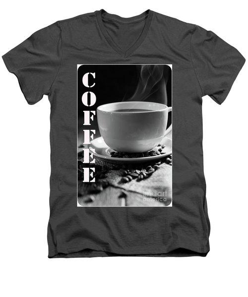 Men's V-Neck T-Shirt featuring the photograph Conversations by Deborah Klubertanz