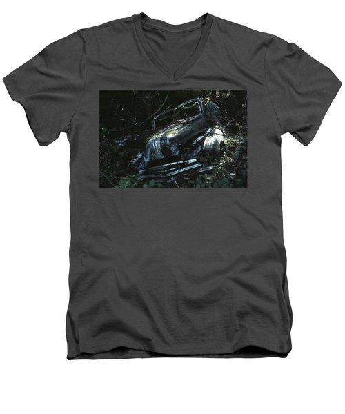 Convertible Men's V-Neck T-Shirt