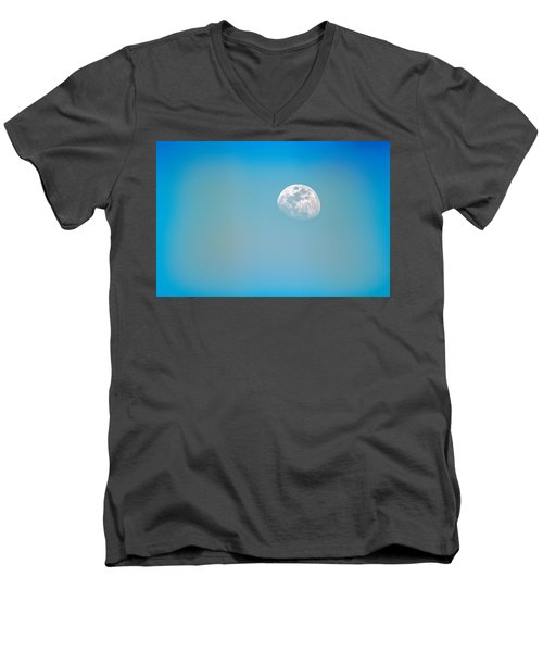 Cool Blue Men's V-Neck T-Shirt