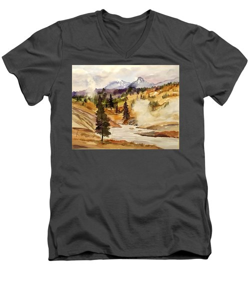 Cool Morning Men's V-Neck T-Shirt