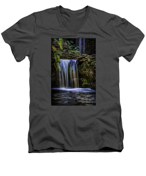 Cool Water Men's V-Neck T-Shirt by Ken Frischkorn