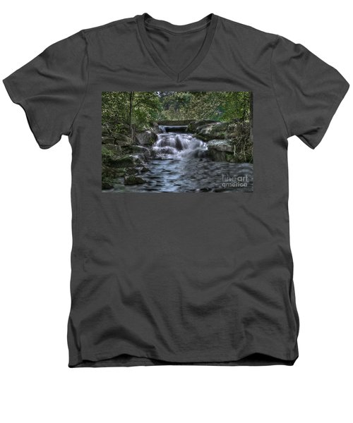 Cooling Waters  Men's V-Neck T-Shirt by Tamyra Ayles