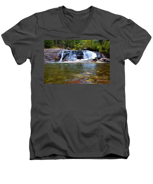 Copeland Falls Men's V-Neck T-Shirt