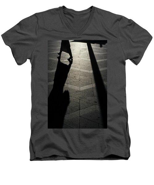 Copenhagen Lady Men's V-Neck T-Shirt by KG Thienemann