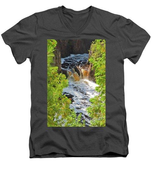 Copper Falls Men's V-Neck T-Shirt