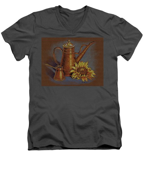 Copper Kettle Men's V-Neck T-Shirt