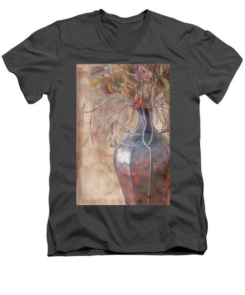 Copper Vase Men's V-Neck T-Shirt