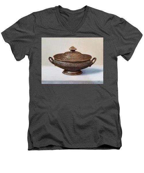 Copper Vessel Men's V-Neck T-Shirt