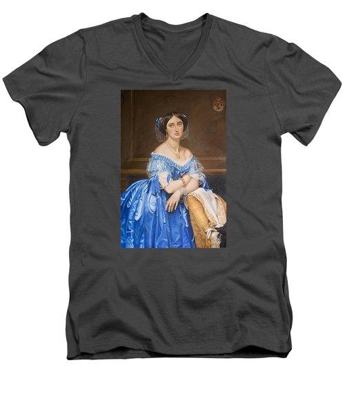 Copy After Ingres Men's V-Neck T-Shirt