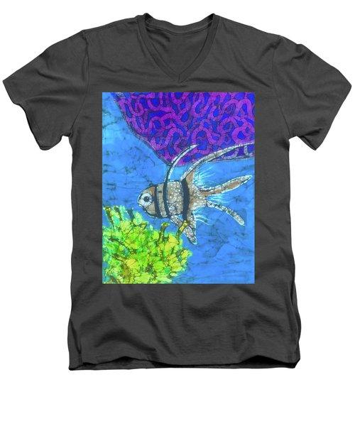 Coral Reef Men's V-Neck T-Shirt