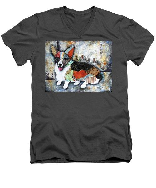 Corgi 2 Men's V-Neck T-Shirt