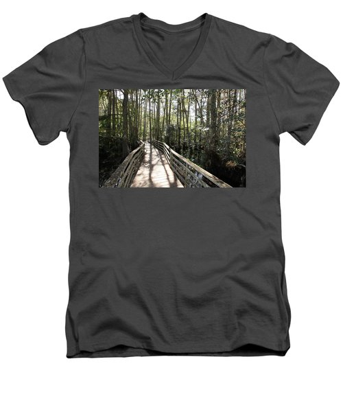 Corkscrew Swamp 697 Men's V-Neck T-Shirt