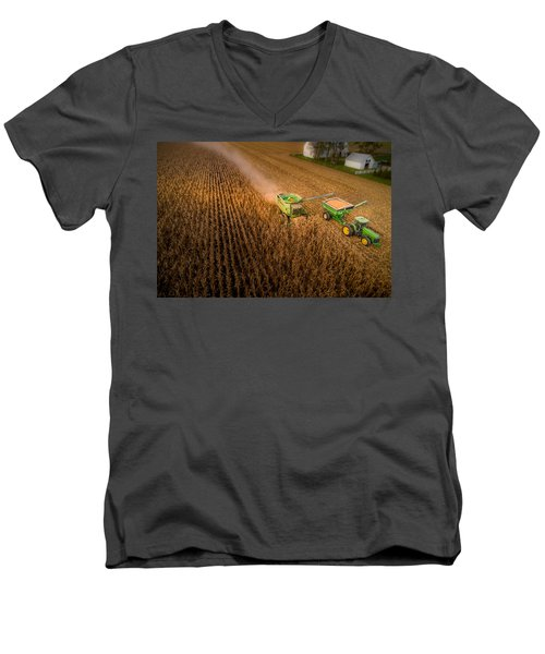 Corn Dust Men's V-Neck T-Shirt