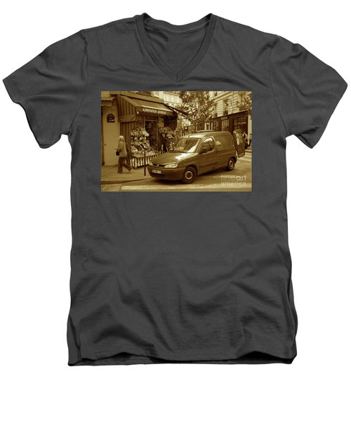 Corner Delivery Men's V-Neck T-Shirt