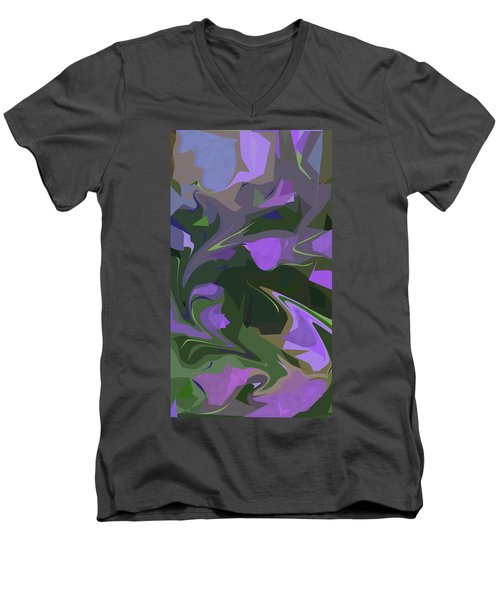 Corner Flower Shop  Men's V-Neck T-Shirt