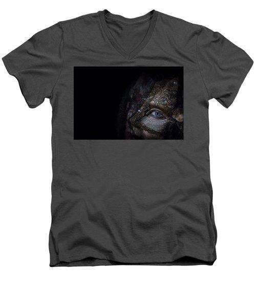 Corner Of My Eye Men's V-Neck T-Shirt