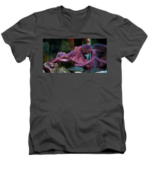 Cornered Men's V-Neck T-Shirt