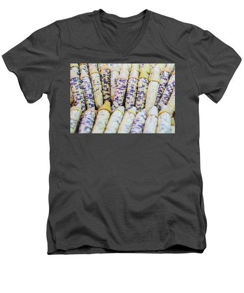 Corns  Men's V-Neck T-Shirt