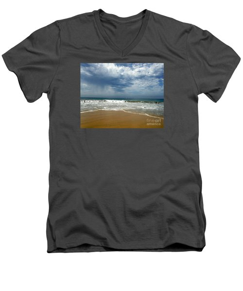 Corona Del Mar 1 Men's V-Neck T-Shirt