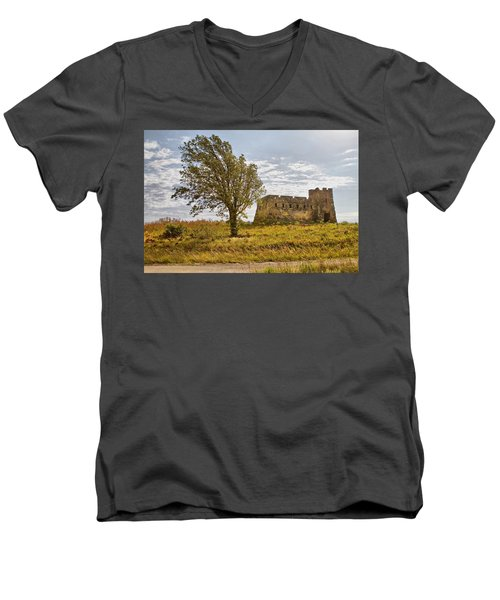 Coronado Hights Lookout  Men's V-Neck T-Shirt