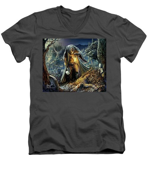 Corpse Taker Men's V-Neck T-Shirt