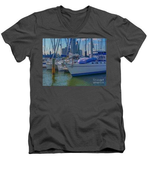 Corpus Christi Marina Men's V-Neck T-Shirt