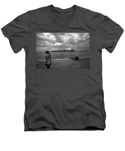 Correspondences Men's V-Neck T-Shirt