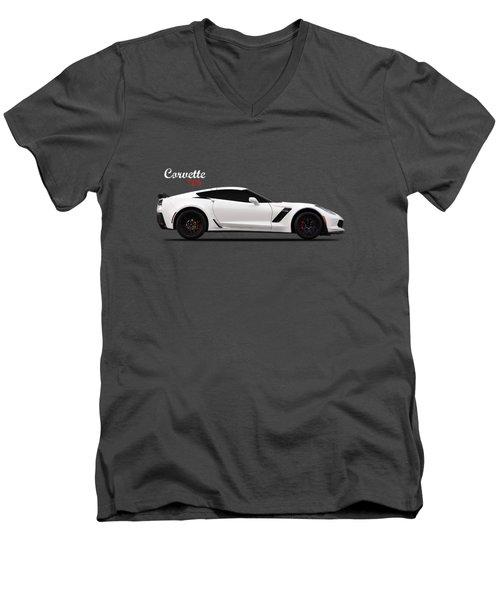 Corvette Z06 Men's V-Neck T-Shirt