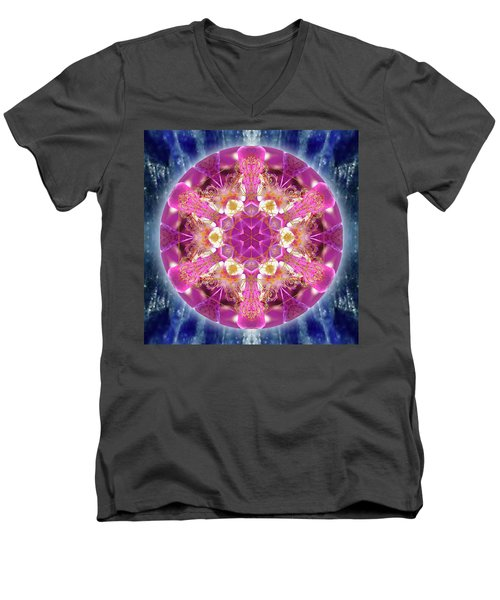 Cosmic Love Men's V-Neck T-Shirt