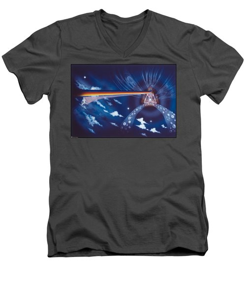 Cosmic Mediator Men's V-Neck T-Shirt
