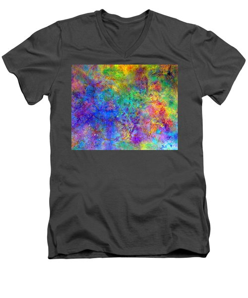 Cosmos Men's V-Neck T-Shirt