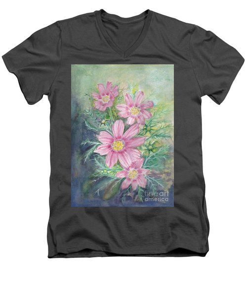Cosmos - Painting Men's V-Neck T-Shirt