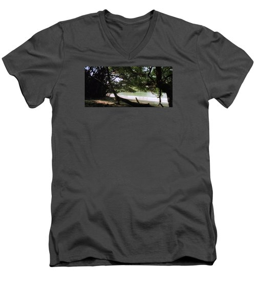 Costa Rica Beach Cove Men's V-Neck T-Shirt