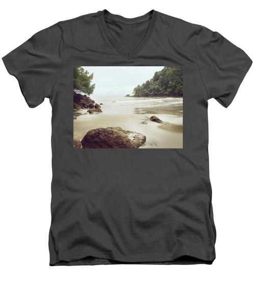 Costa Rica Men's V-Neck T-Shirt