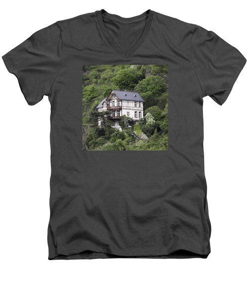 Cottage With A View Men's V-Neck T-Shirt