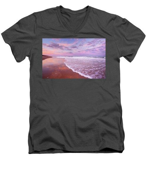 Cotton Candy Sunset. Men's V-Neck T-Shirt