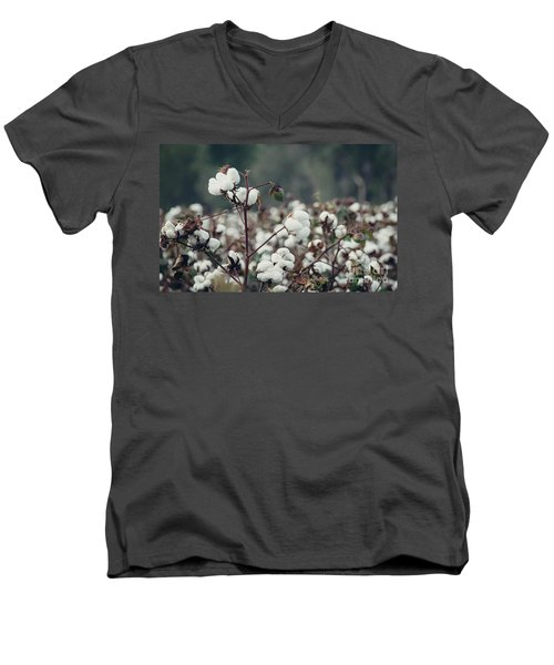 Cotton Field 5 Men's V-Neck T-Shirt