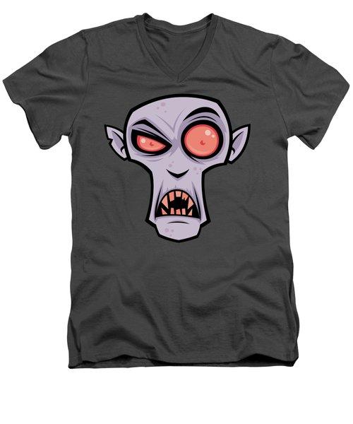 Count Dracula Men's V-Neck T-Shirt