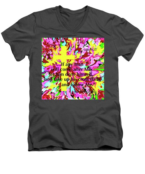 Counting The Cost Men's V-Neck T-Shirt