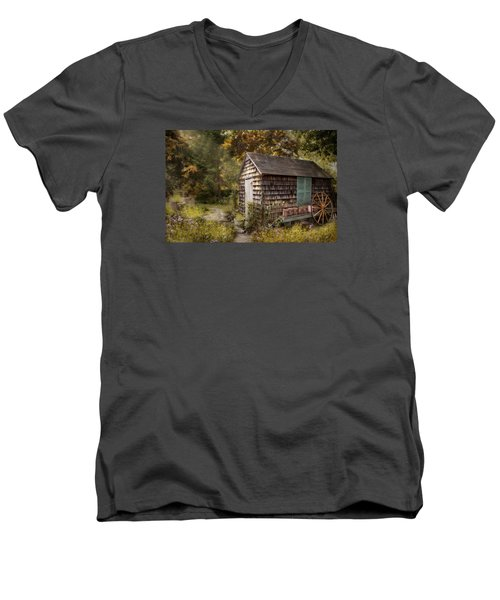 Men's V-Neck T-Shirt featuring the photograph Country Blessings by Robin-Lee Vieira
