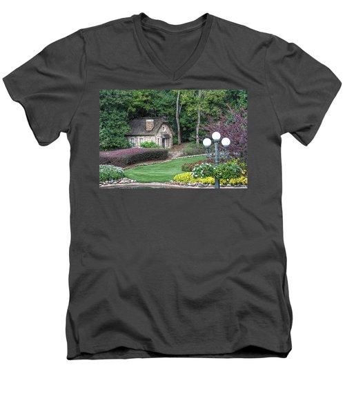 Country Cottage Men's V-Neck T-Shirt