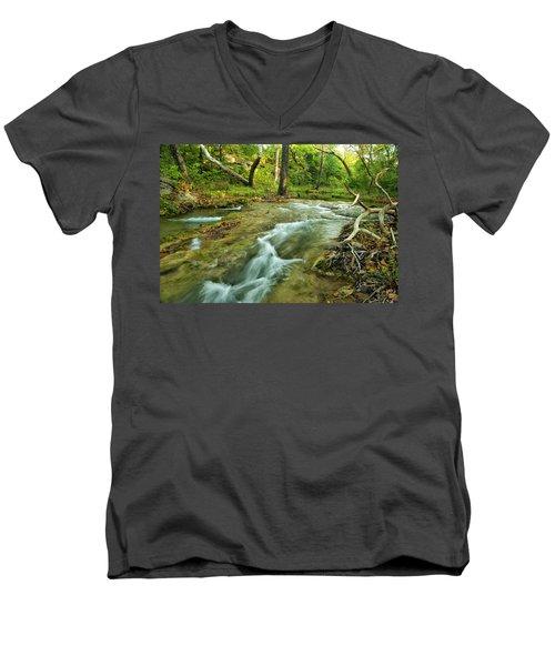 Country Creek Men's V-Neck T-Shirt