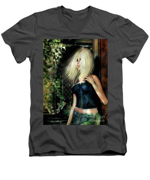 Country Girl Men's V-Neck T-Shirt