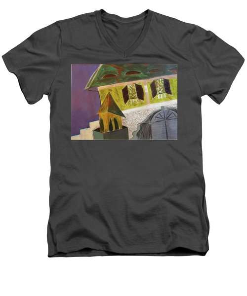 Country House Men's V-Neck T-Shirt