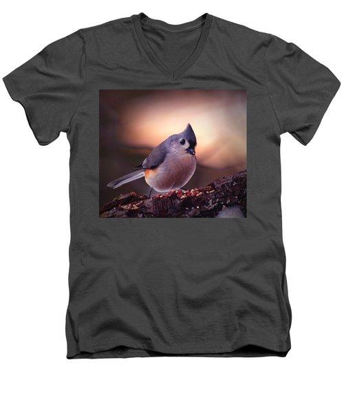 Country Mouse... Men's V-Neck T-Shirt