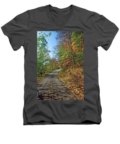 Country Roads Men's V-Neck T-Shirt