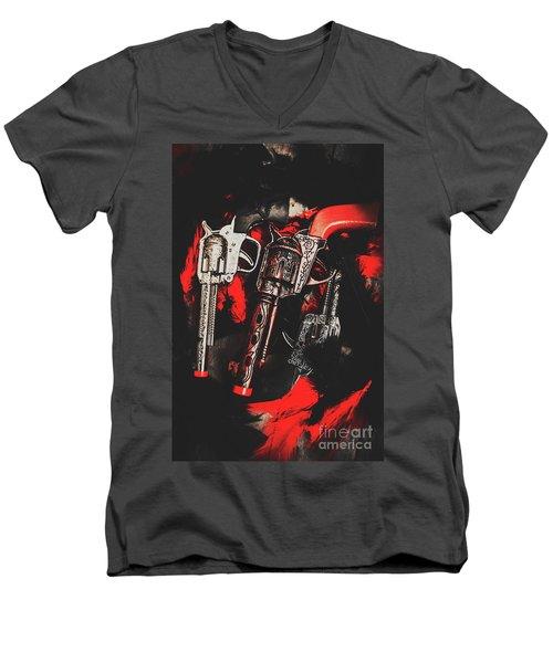 County Slingers  Men's V-Neck T-Shirt
