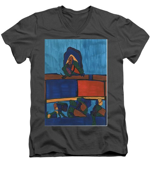 Courtroom  Men's V-Neck T-Shirt