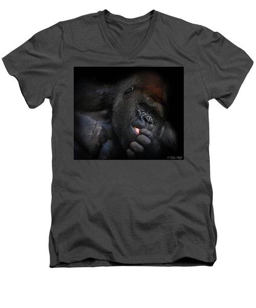 Cousin No. 24 Men's V-Neck T-Shirt