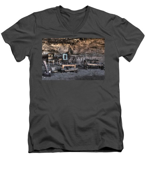 Cowboy Camp 1880s Men's V-Neck T-Shirt